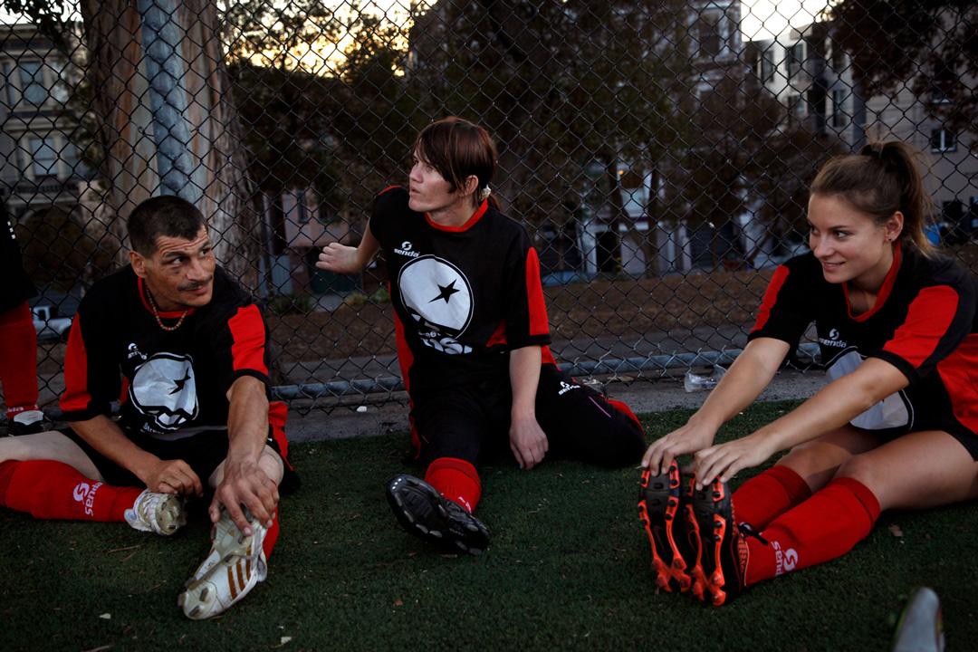 Soccer on the Street