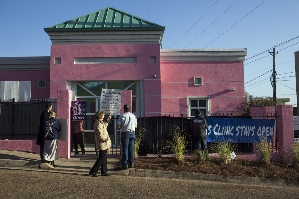 Mississippi's Last Abortion Clinic, Captured in Photos