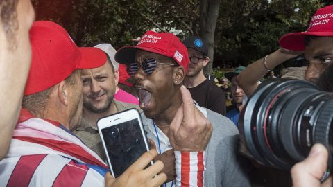 Blood on the Sidewalk: A Look at the Political Clashes of the Trump Era