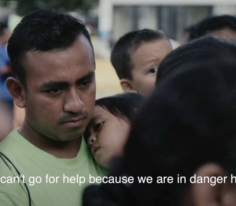 'Afraid… for the Children.' Inside the Mexico Tent City Where Asylum Seekers Live and Wait