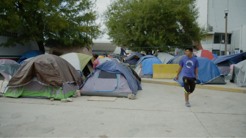 Winter Cold Brings New Challenges to Asylum Seekers Living in Matamoros, Mexico