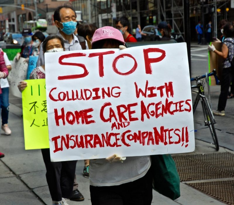New York Home Care Workers Challenge Their Union to End 24-Hour Shifts