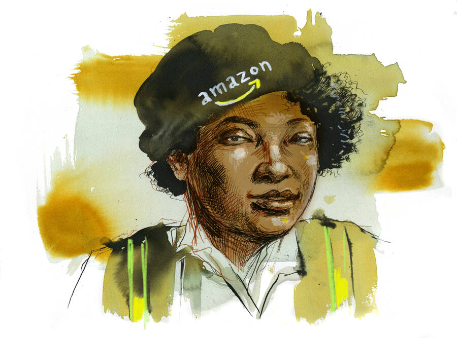 This Amazon Grocery Runner Has Risked Her Job to Fight for Better Safety Measures