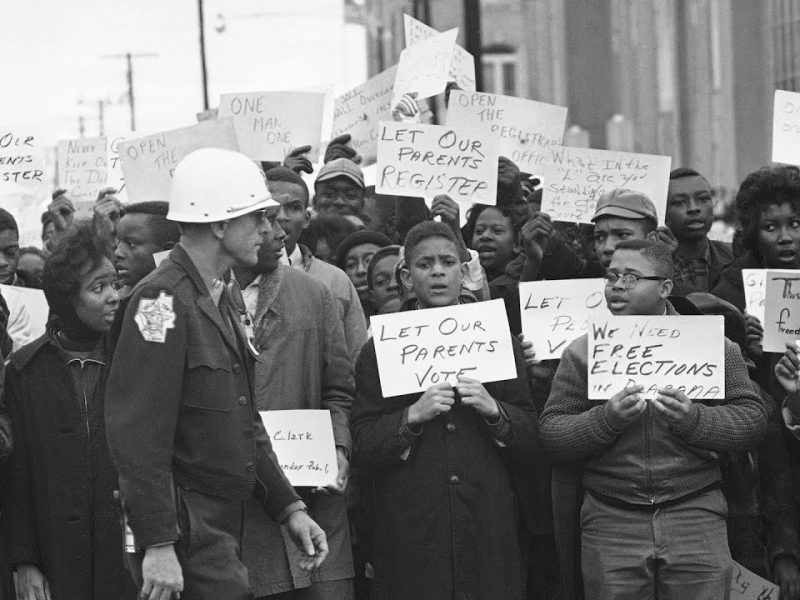 Poll Watchers and the Long History of Voter Intimidation