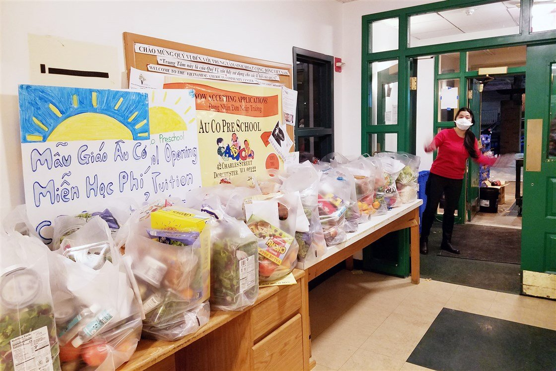 Asian American food aid expands to address hidden hunger during pandemic