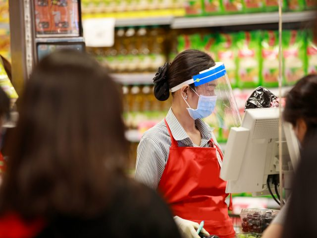 My Pandemic Year Behind the Checkout Counter
